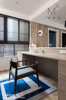精选现代三居书房装修设计效果图片