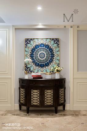 典雅159平美式四居玄关设计美图家装装修案例效果图
