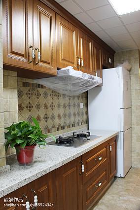 热门小户型厨房美式效果图片大全