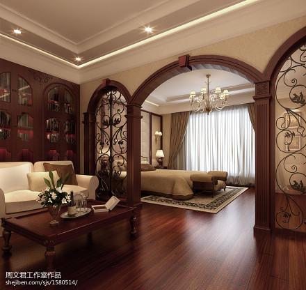 精选115平米美式别墅客厅欣赏图客厅