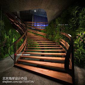 极简主义阁楼楼梯装修效果图