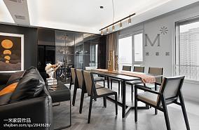 华丽121平现代四居餐厅效果图欣赏