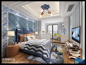 面积87平公寓休闲区北欧装修图片