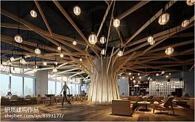 现代简约客厅电视墙造型设计
