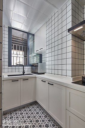 201885平米北欧小户型厨房欣赏图片