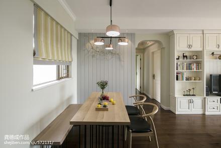 精选71平米二居餐厅北欧装修设计效果图片欣赏厨房