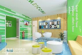 美式简约客厅电视墙造型设计