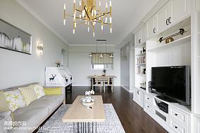 精选二居客厅北欧装修设计效果图片欣赏