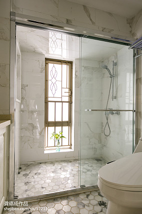 精选面积73平北欧二居卫生间装修欣赏图片
