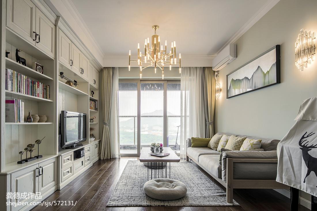 北欧二居客厅设计效果图