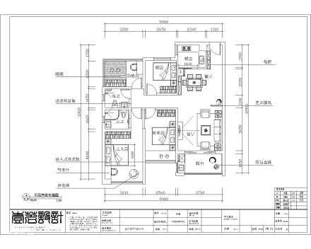 精美107平米三居客厅宜家装修效果图片欣赏
