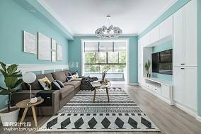 2019135平北欧三居客厅设计效果图