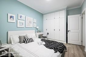 质朴78平北欧三居装修效果图三居北欧极简家装装修案例效果图