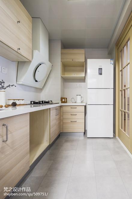 木舍日式厨房设计图片