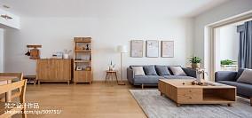 2018二居客厅日式实景图片