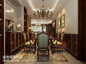 豪华欧式餐厅吊灯效果图
