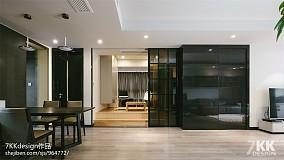 明亮110平现代三居客厅装修图片