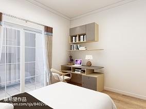 简约风格二居卧室装修图片
