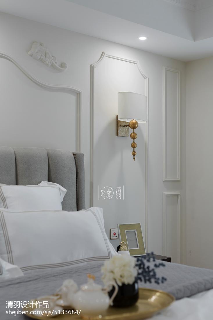 2018精选面积138平混搭四居卧室装修图片卧室