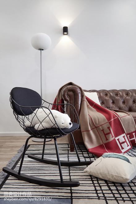 2018北欧小户型客厅装修效果图