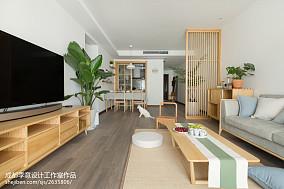 简单日式客厅设计图