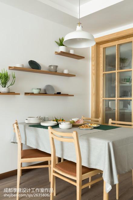 简单日式餐厅设计图片厨房