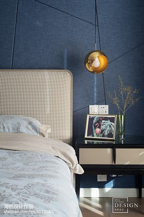 2018精选面积99平北欧三居卧室设计效果图