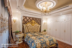 热门别墅卧室装修实景图片