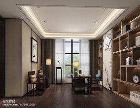 中式古典博古架图片  书房博古架设计效果图