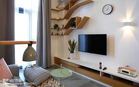 热门面积90平小户型客厅北欧欣赏图
