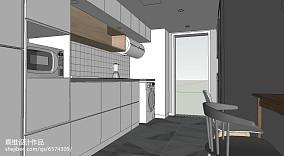 精选北欧小户型厨房装修图片欣赏