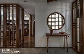热门面积106平中式三居玄关装修设计效果图片大全