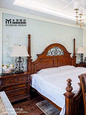 精选新古典别墅卧室效果图片别墅豪宅美式经典家装装修案例效果图