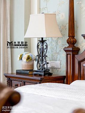 2018新古典别墅卧室欣赏图别墅豪宅美式经典家装装修案例效果图
