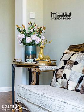 2018面积142平别墅过道新古典装饰图片别墅豪宅美式经典家装装修案例效果图