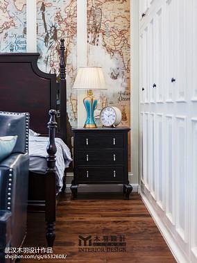 精美新古典别墅卧室装修欣赏图片别墅豪宅美式经典家装装修案例效果图