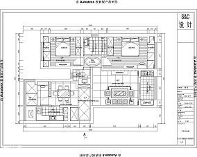 法式两室一厅客厅装修效果图