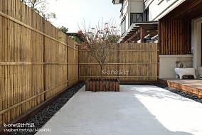 113平米日式别墅花园装修图片大全