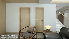 日式风格高档别墅室外装修效果图