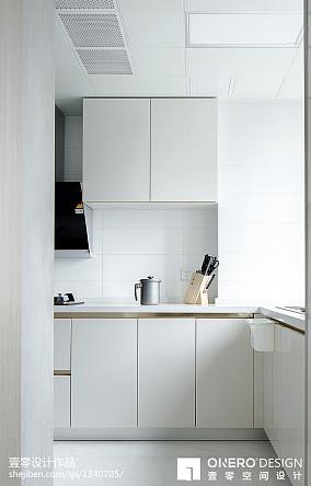 精选四居厨房现代实景图