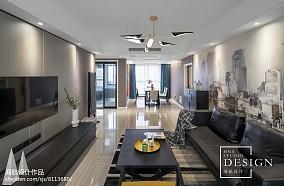 102平方三居客厅现代欣赏图