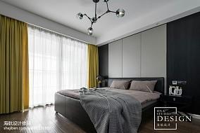 精选面积94平现代三居卧室实景图