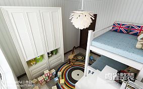 简欧装修卧室隔断墙图片