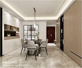 优雅127平简欧三居餐厅美图厨房欧式豪华设计图片赏析