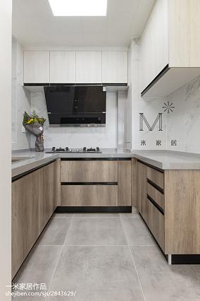 精选90平米三居厨房现代装修欣赏图片