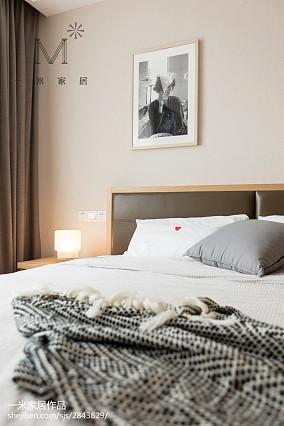 精美121平北欧三居卧室装修图家装装修案例效果图