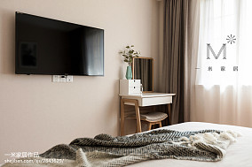 精致119平北欧三居卧室装修图片三居北欧极简家装装修案例效果图
