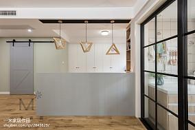 优美101平北欧三居设计案例家装装修案例效果图