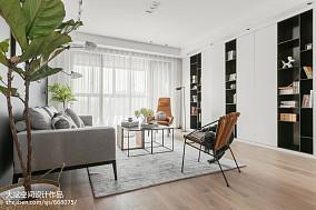 2018面积139平北欧四居客厅装修欣赏图四居及以上北欧极简家装装修案例效果图