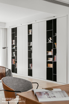 精致137平北欧四居装修案例四居及以上北欧极简家装装修案例效果图
